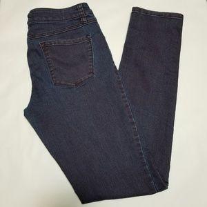 Prana Dark Wash 'Kara' Low Rise Skinny Jeans